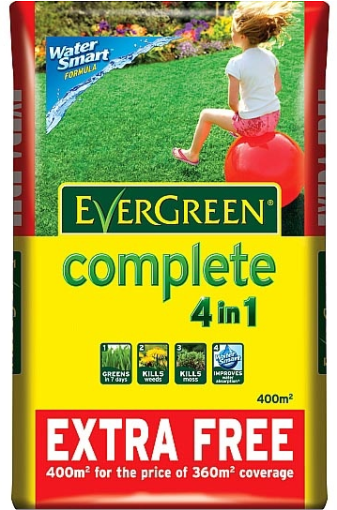 Evergreen® Complete Lawn Feeder and Weed Killer - 400m²
