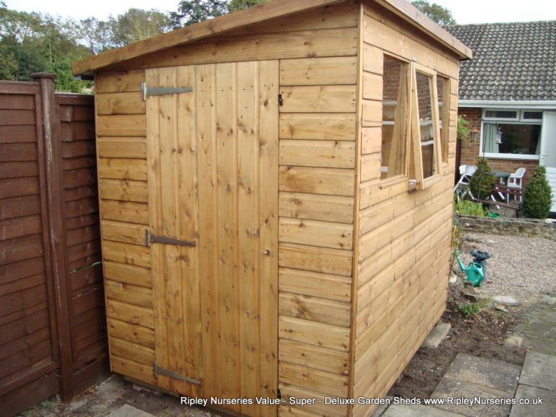 Super Pent 7x5 With Opening Window Super Pent 7x5 With Op. Garden Sheds  Ripley
