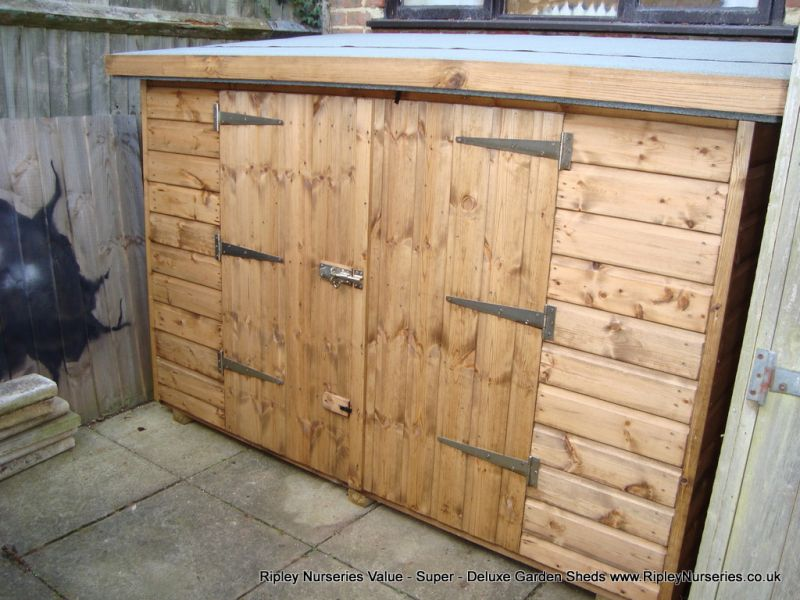 tool shed 7x3 double doors in low side tool shed 7x3 double - Garden Sheds 7 X 3