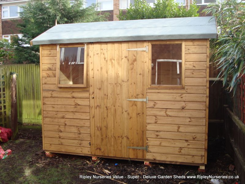 sheds apex pent photo albums ripley nurseries garden - Garden Sheds 9x6