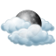 Saturday: Mostly cloudy
