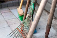 Cleaning up your garden tools