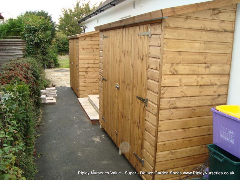 tool shed 7x3 2 of with double doors in low side tool shed 7x3 2 of wit - Garden Sheds 7 X 3