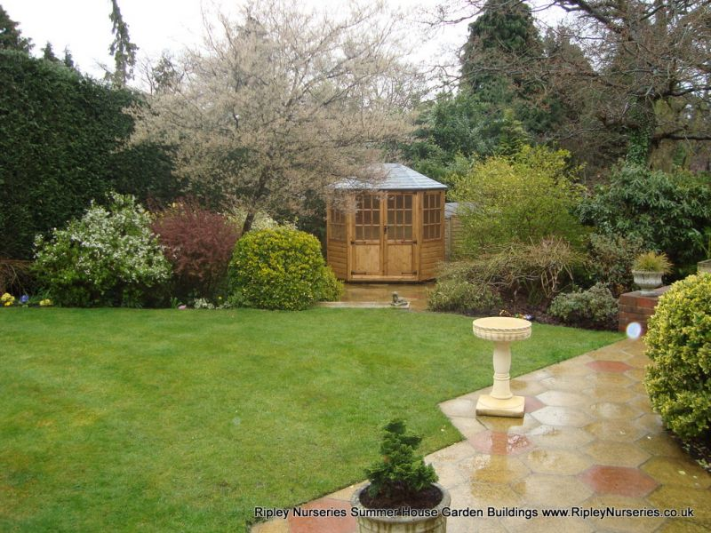 Frensham double door Gazebo 8X6.