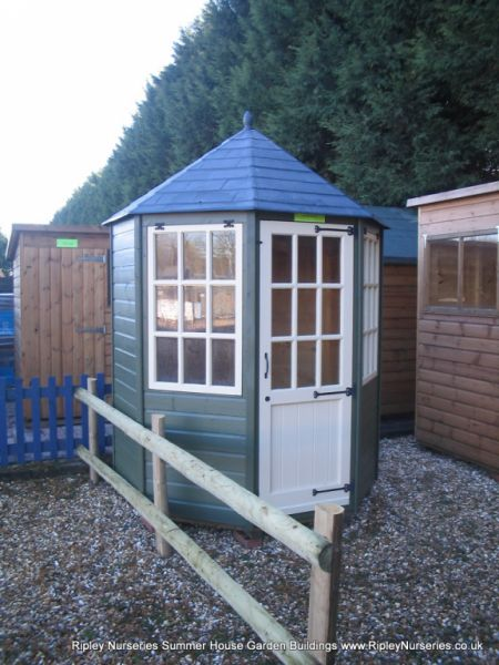 Frensham single door Gazebo 6X6 with Painted Finish.